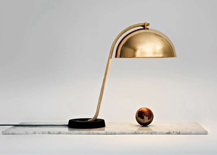 A Copper Lamp Inspired by the Bellflowers of Norway portrait 6