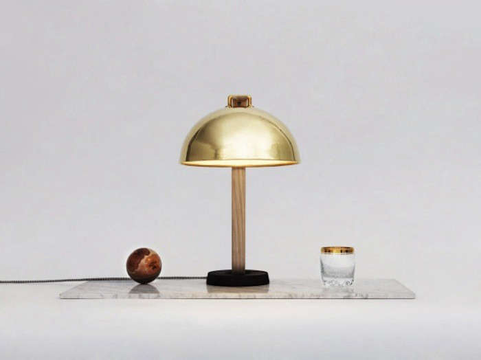 A Copper Lamp Inspired by the Bellflowers of Norway portrait 4