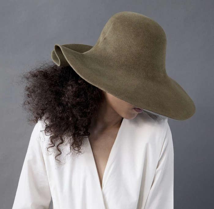 Slow Fashion Haute Handmade Hats from New York portrait 5