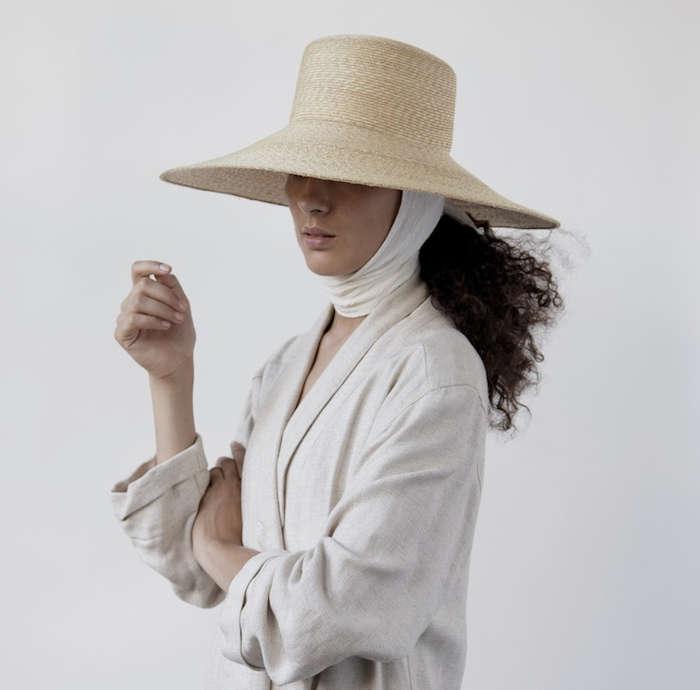 Slow Fashion Haute Handmade Hats from New York portrait 3