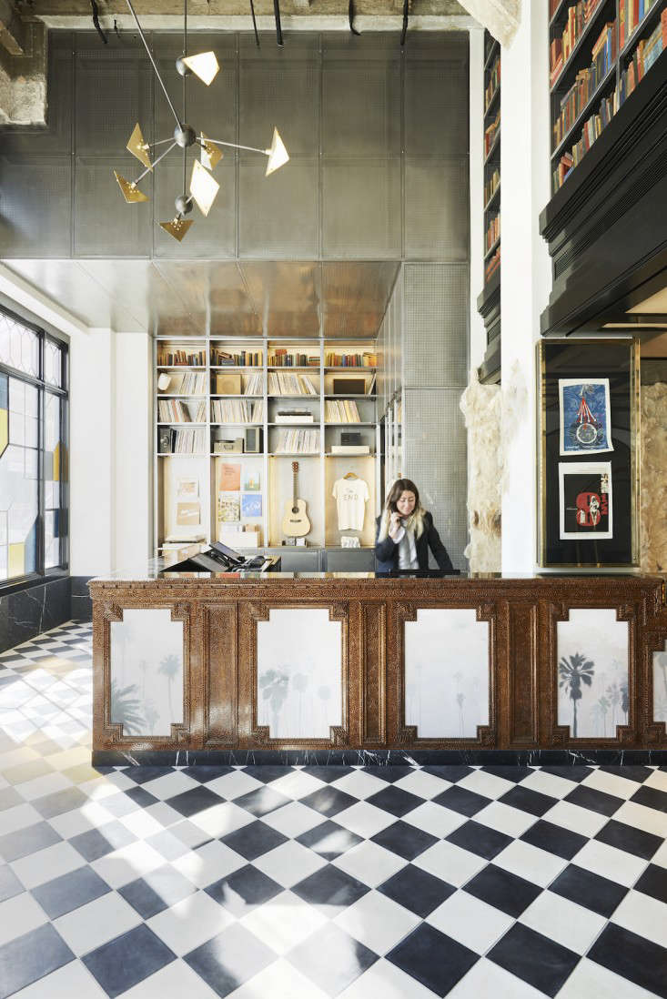 Commune Ace Hotel DTLA Lobby Photography Spencer Lowell Remodelista