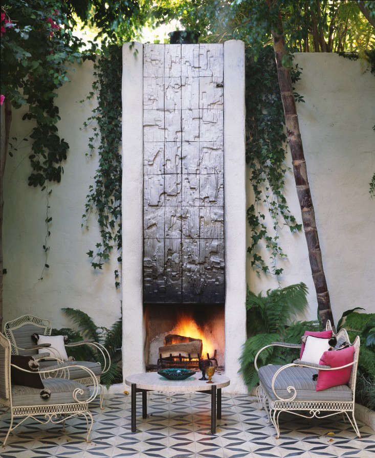 Commune CATALINA outdoor fireplace photograph Cory Walter Remodelista