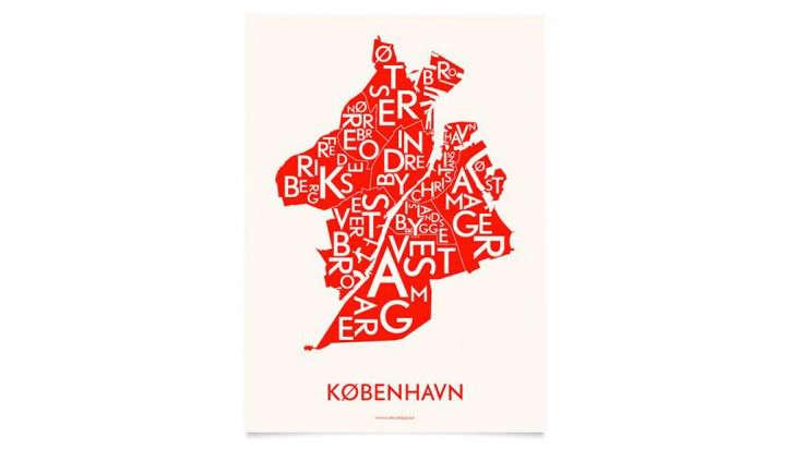 Danish Love Typographic City Posters  portrait 5