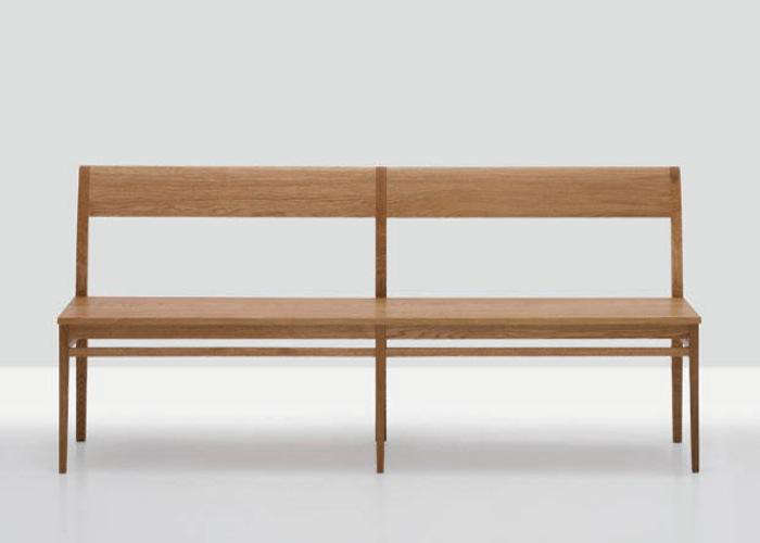 10 Easy Pieces Modern Wooden Benches with Backs portrait 4
