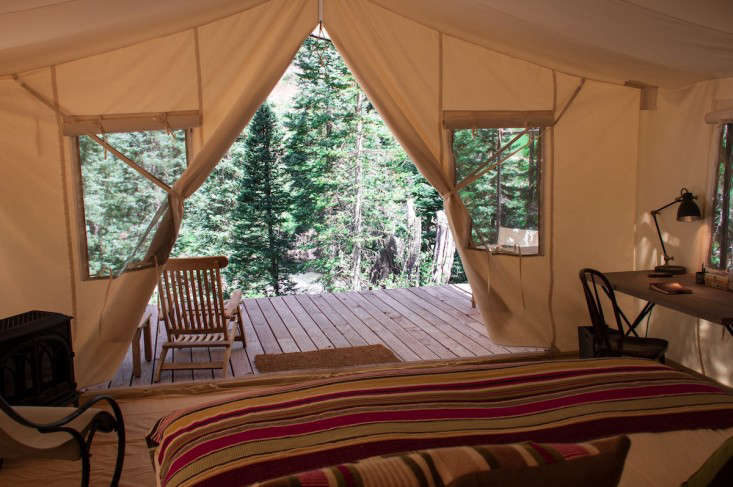 SafariStyle Camping in Colorado Glam Bedding Included portrait 5