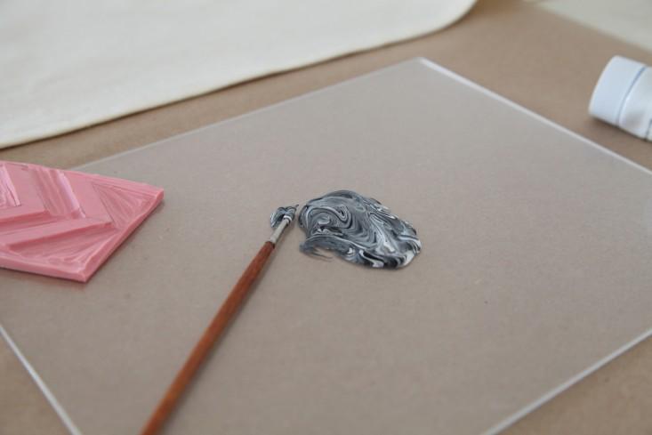 DIY Block Printing The Customized Tea Towel and More portrait 6