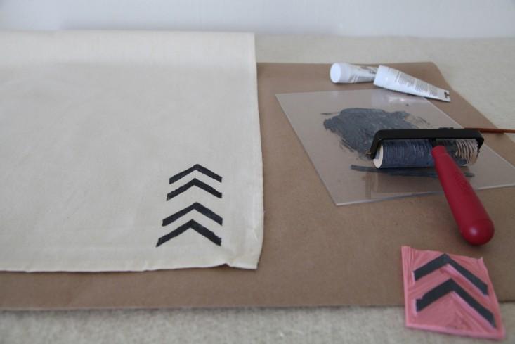 DIY Block Printing The Customized Tea Towel and More portrait 7