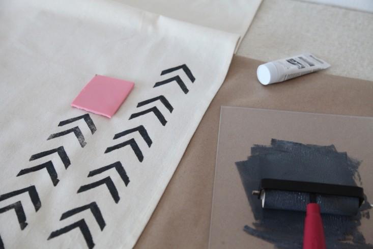 DIY Block Printing The Customized Tea Towel and More portrait 8