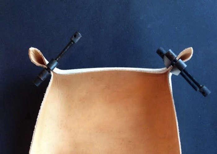 DIY Leather Tray by Izabella Remodelista07
