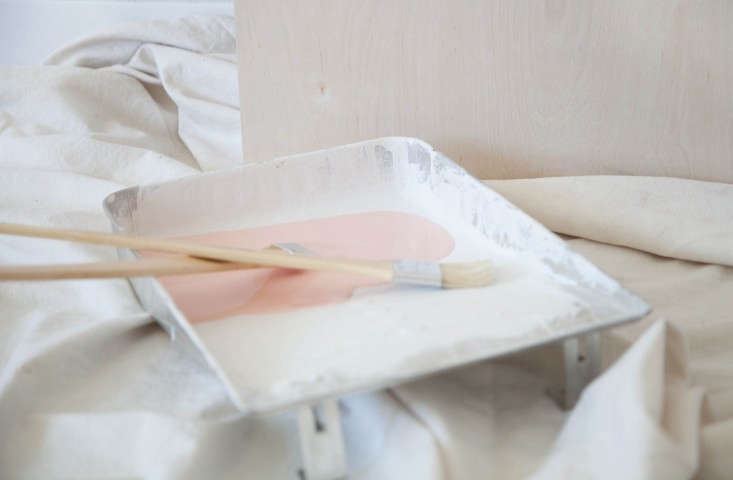 Photograph by Alexa Hotz for Remodelista, from DIY: The Three-Step Painted Headboard.