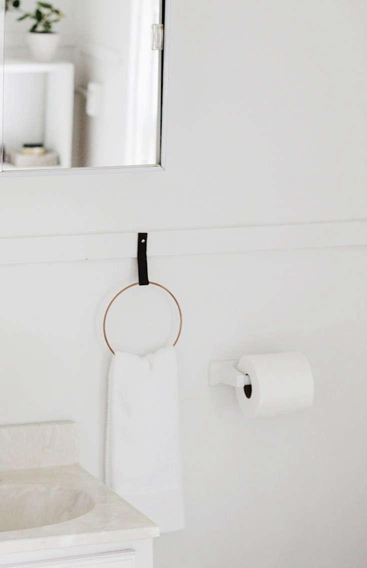 DIY A Simple and Elegant Towel Holder for Under 10 portrait 5