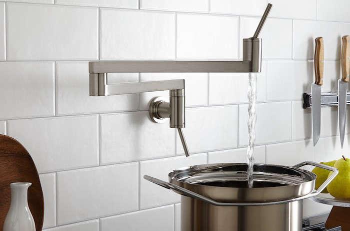 DXV American Standard Contemporary Pot Filler Faucet Remodelista