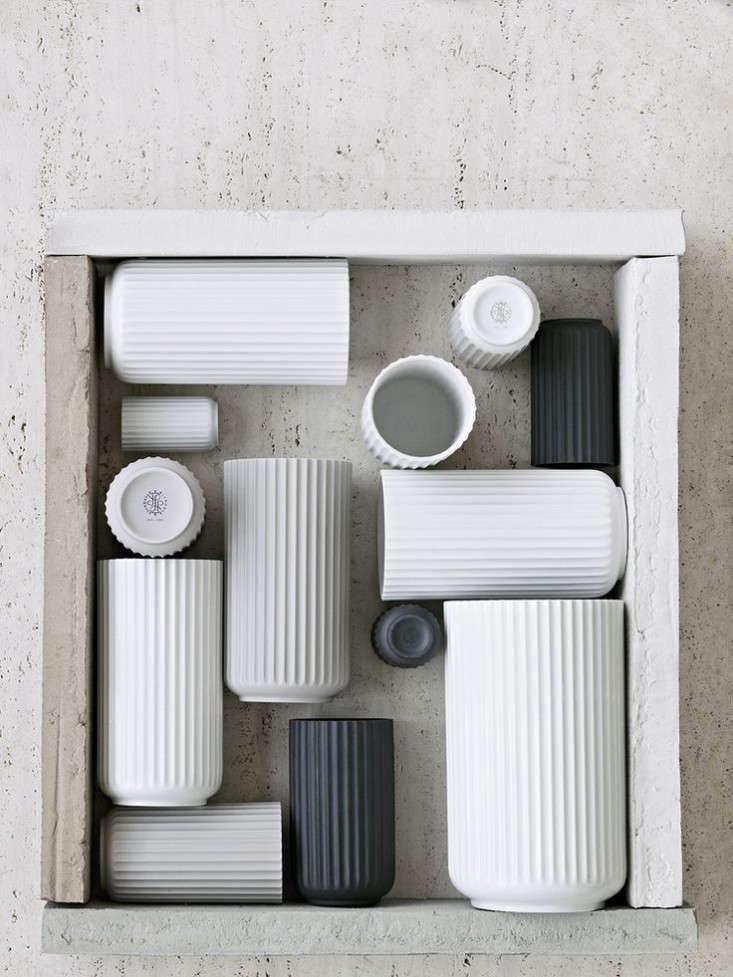 Scandinavian design from Goods We Love: Lyngby Vases.