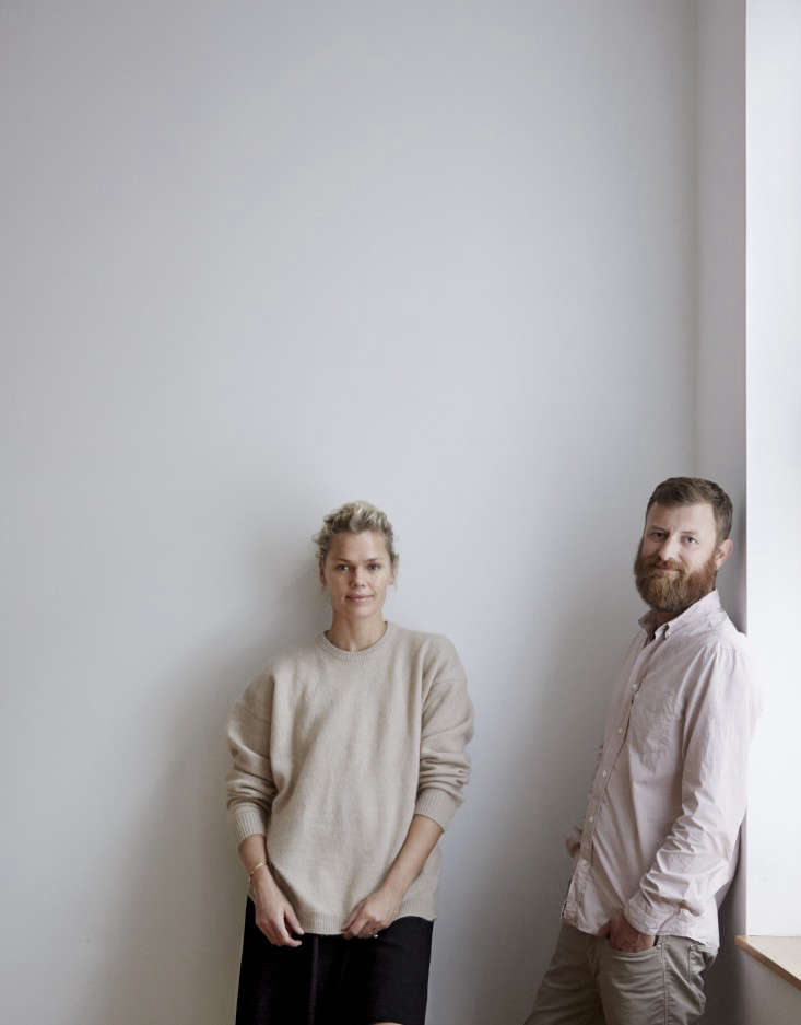 Scandinavian design specialists: supermodel Camilla Vest and advertising creative Ricky Nordson of Goods We Love, New York importers of the best of Danish contemporary and modern design.