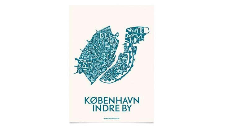 Danish Love Typographic City Posters  portrait 7