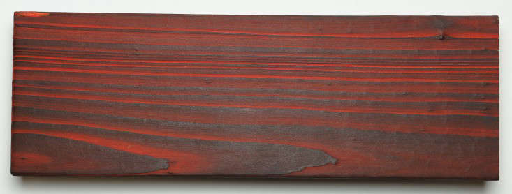 Playing with Fire Shou Sugi Ban Torched Lumber in Bright Colors portrait 6