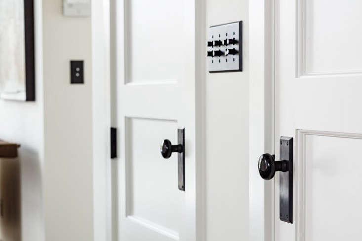 Door handle light switches Portland loft Remodelista