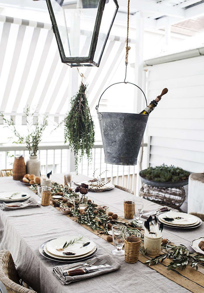 Steal This Look A Rustic Holiday Table from Australia portrait 3