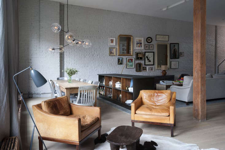 A Whimsical Family Loft in Brooklyn Whale Wallpaper Included portrait 9