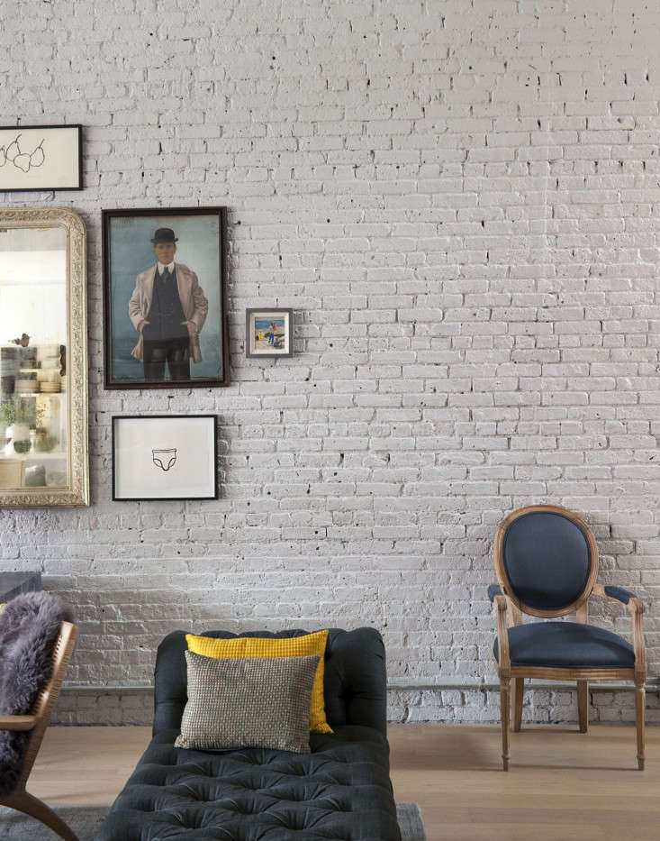 A Whimsical Family Loft in Brooklyn Whale Wallpaper Included portrait 8