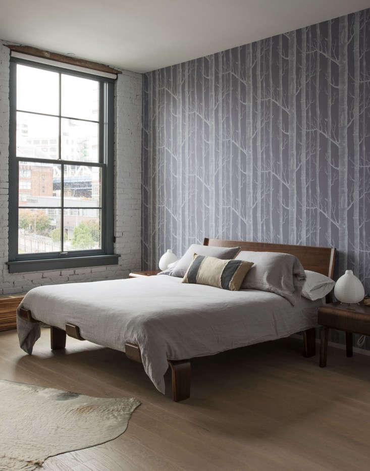 A Whimsical Family Loft in Brooklyn Whale Wallpaper Included portrait 19