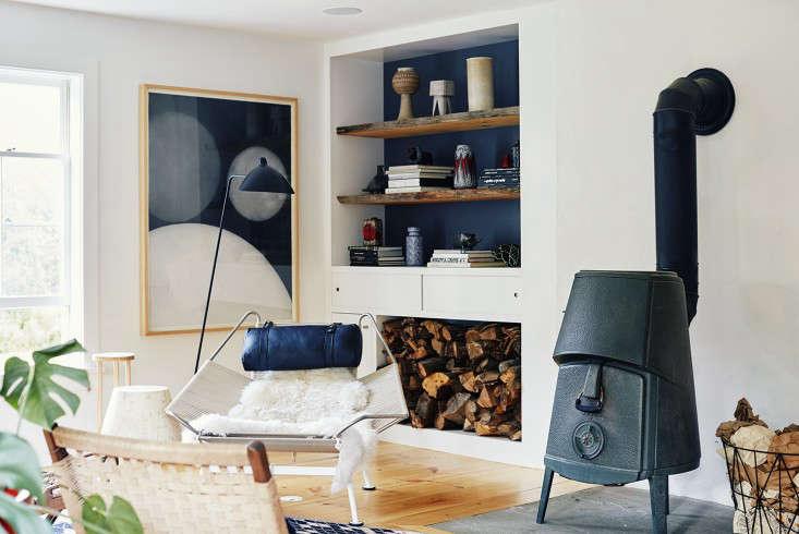 A Scandinavian woodstove—&#8
