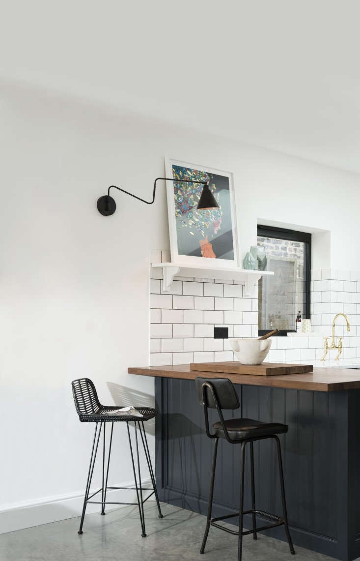 East Dulwich Kitchen by deVOL with Butcher Block Countertops