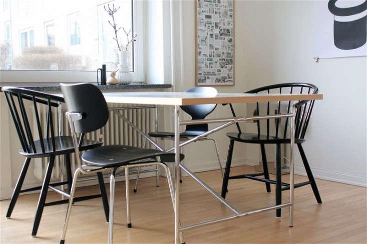 Egon eiermann table chair