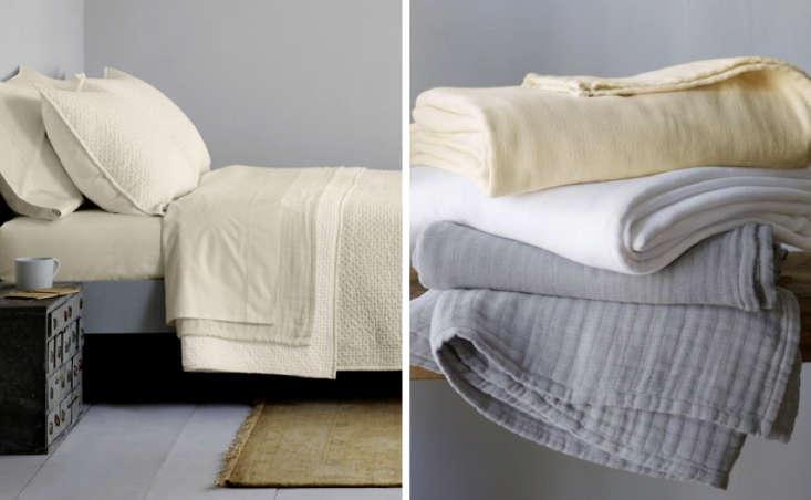 Eileen Fisher Cotton Blankets