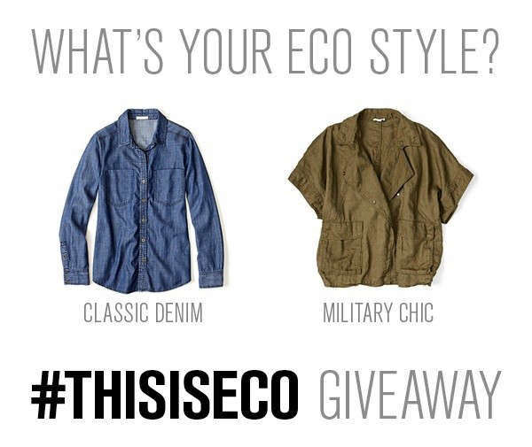 Enter to Win Eileen Fisher Eco Giveaway portrait 3