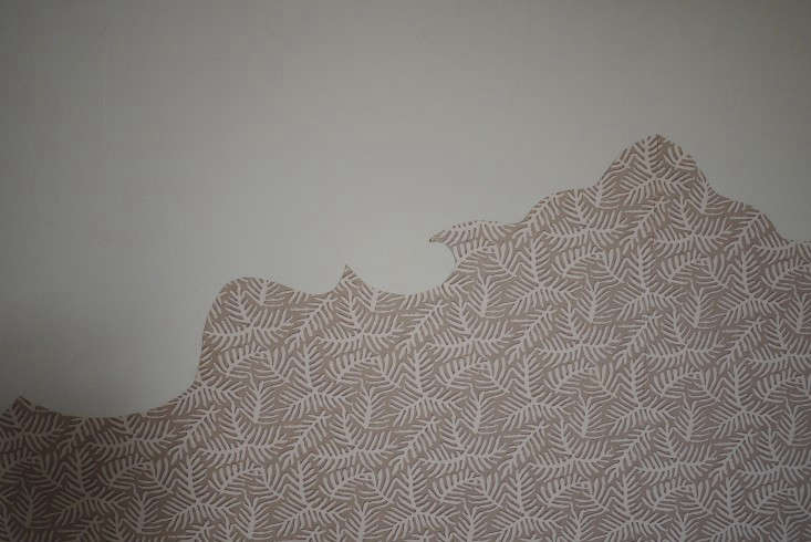 DIY Wallpaper Headboard by Emma Cassi portrait 7