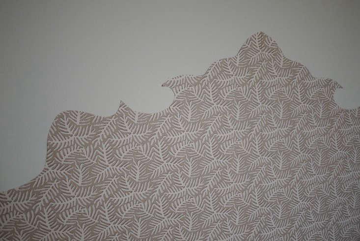 DIY Wallpaper Headboard by Emma Cassi portrait 8