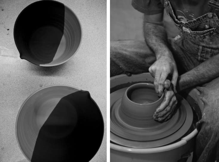 A French Potter at the Wheel in New York portrait 3