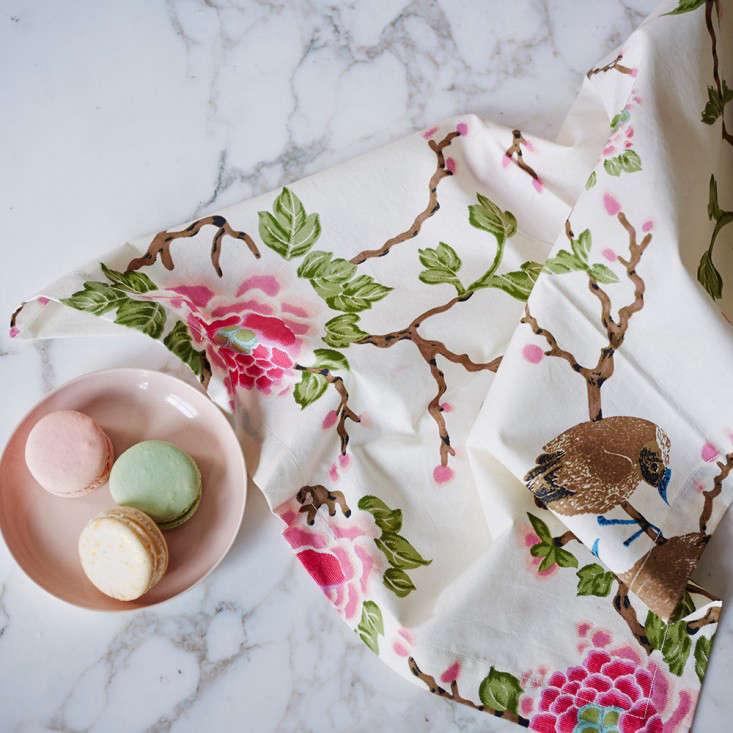 Erica Tanov Lovebird napkins Remodelista