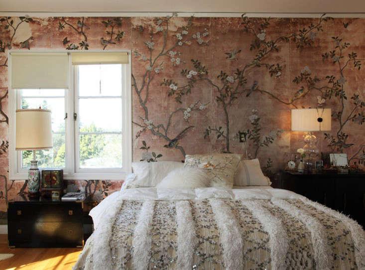Erica Tanov bedroom by Leslie Williamson