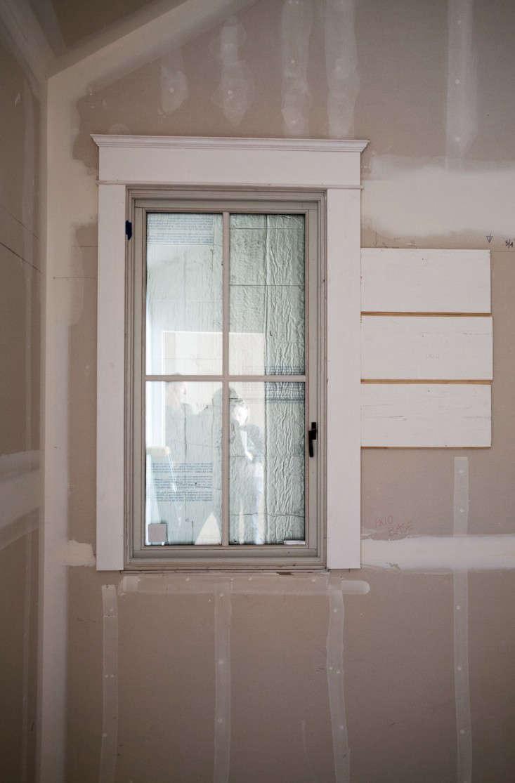 Erio Brown Construction window trim Remodelista