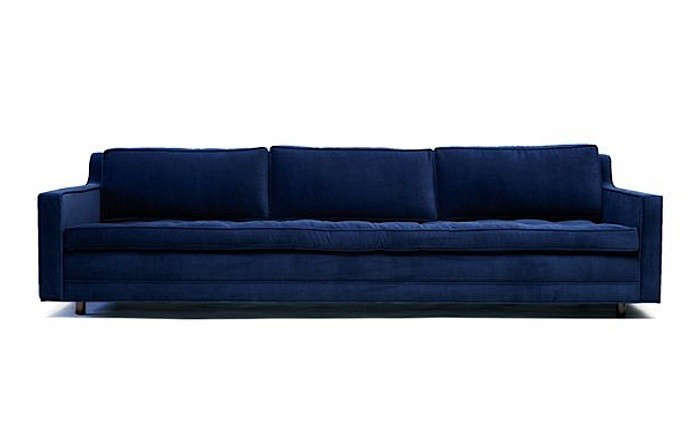 10 Easy Pieces The Blue Velvet Sofa Luxe Edition portrait 10