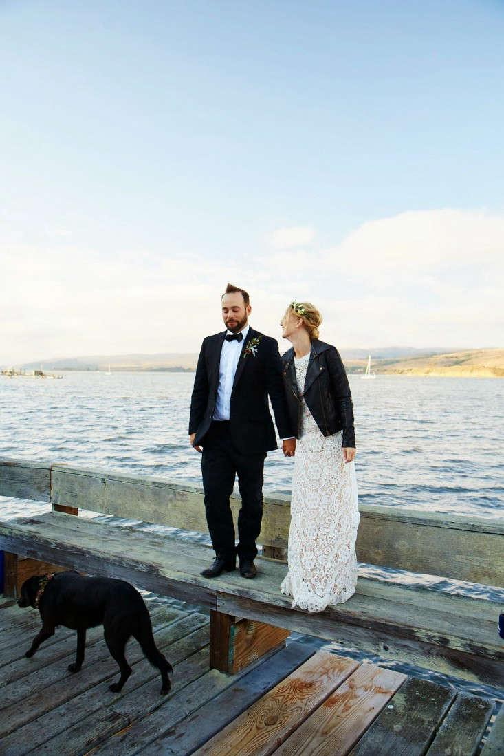 Faye McAuliffe Justin Kane Inverness CA wedding Remodelista