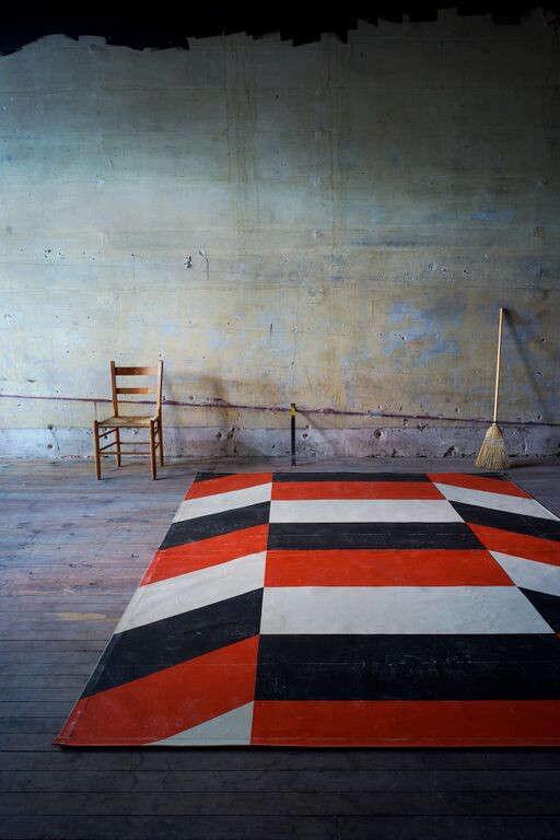 The Canvas Carpet Floorcloths from Black Point Mercantile of Portland Maine portrait 9