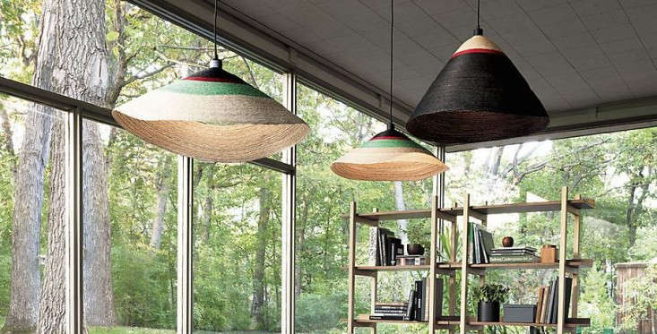 Frida and Diego Pendant Lights from CB2 10