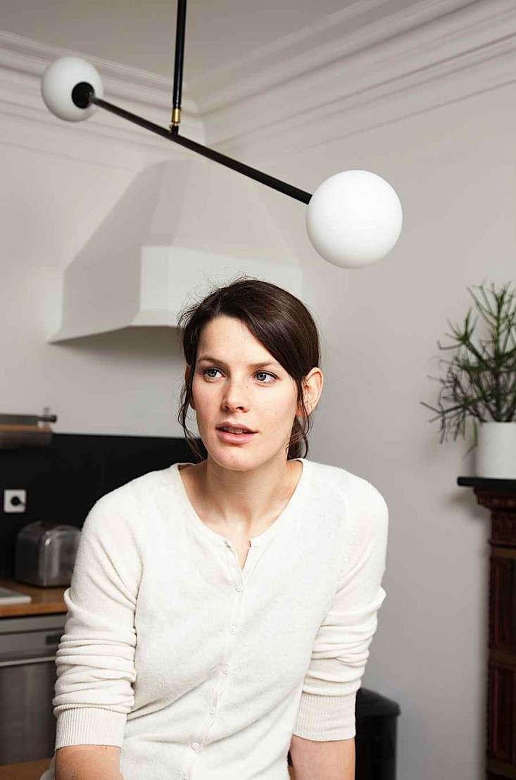 Designer Gesa Hansen at home in Paris | Remodelista