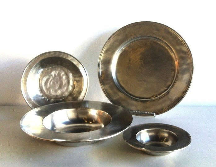 Gift Guide 2013 Home Design Fiend Match Pewter Plates Remodelista