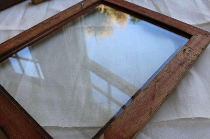 DIY Repurposing a Vintage Frame portrait 9