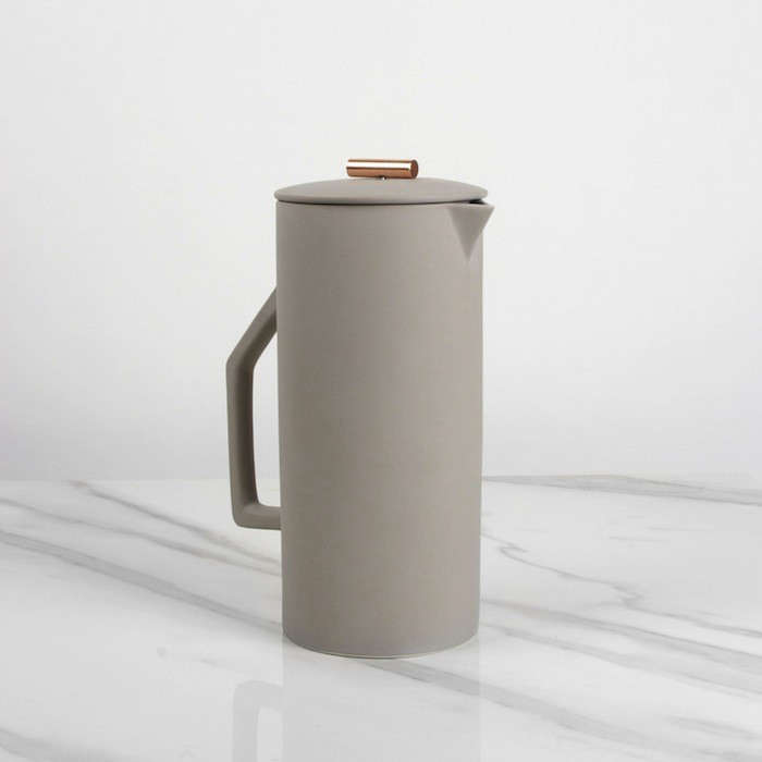 Beautiful Brew The Ceramic French Press from Yield Design portrait 6