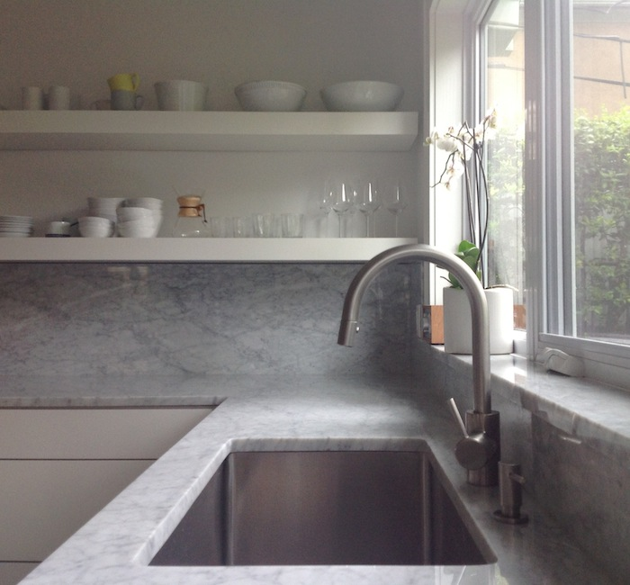 We installed a Grohe Concetto Faucet in our kitchen; $307.45 from Build.com. It&#8