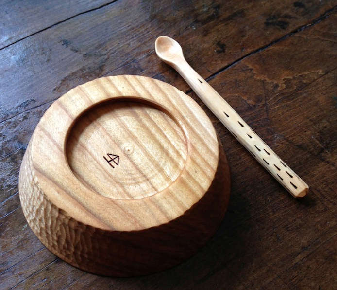 Hand Carved Kitchen Implements from Hatchet  Bear portrait 7
