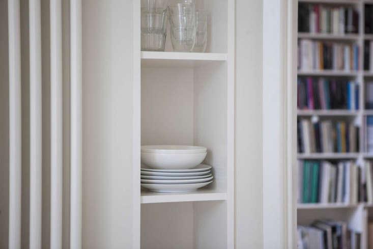 Helen Lucas Architects Alison Watts Studio kitchen storage Angus Bremner Remodelista