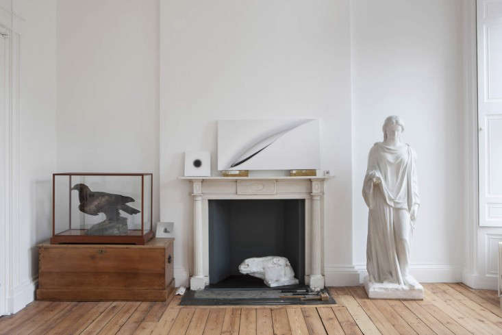 helen lucas architects alison watts studio mantlepiece angus bremner remodelista 11
