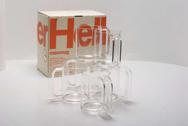 Heller vignelli clear mug Remodelista