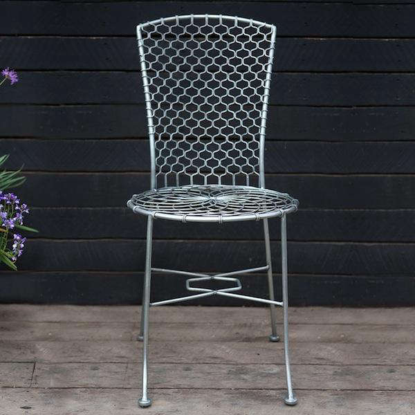 Honeycomb Wire Chair 01